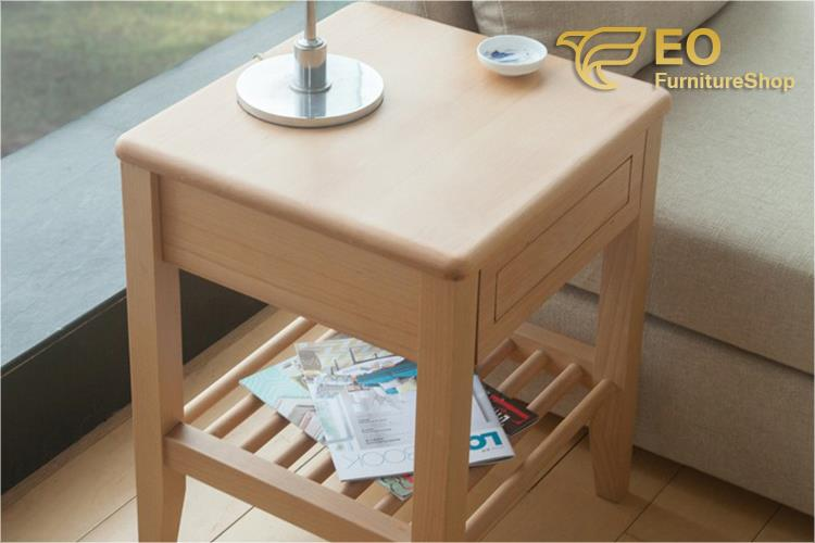 China Customized Wood Bedside Table Manufacturers and