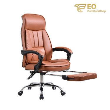 Leather Recliner Office Chair