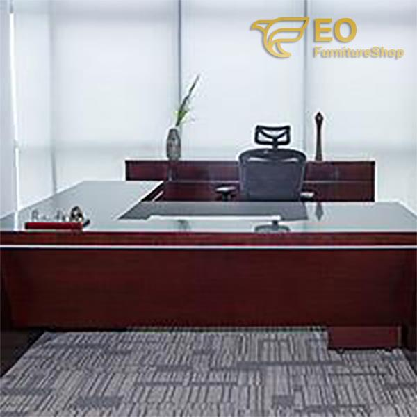 High End Wood Office Table