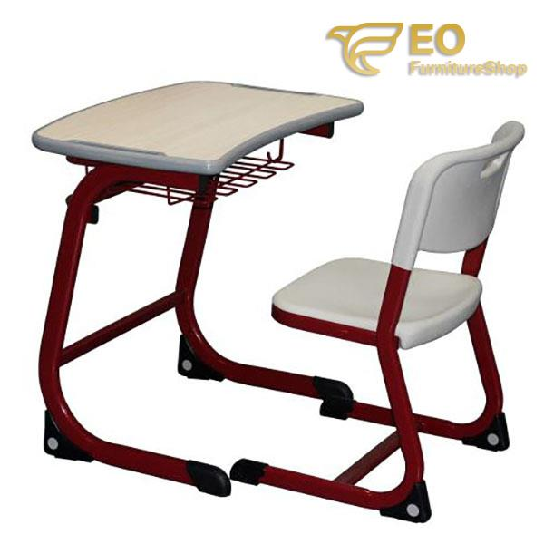 Steel Structural School Desk And Chair