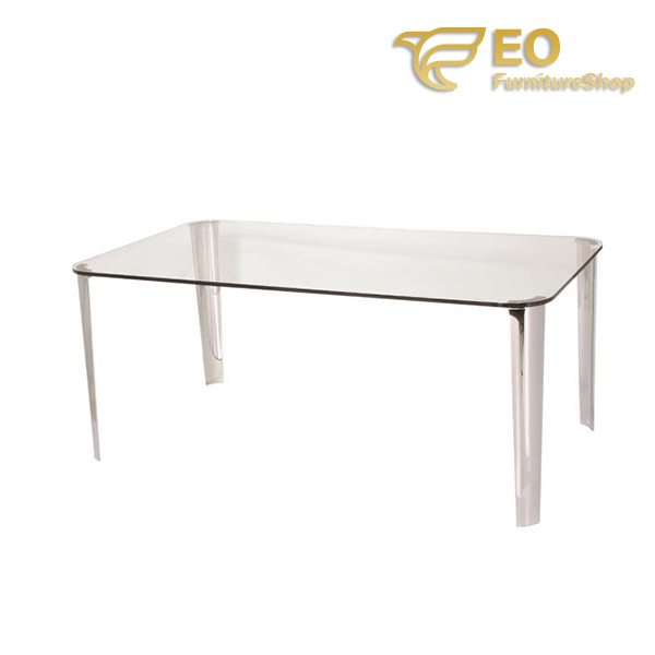 Metal Frame Dining Table