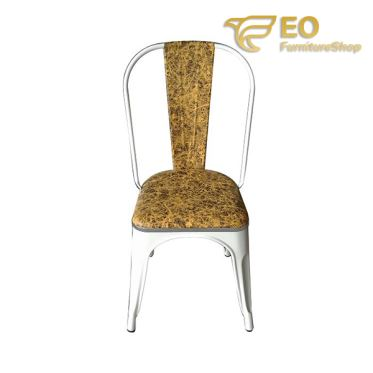 Armless Metal Dining Chair