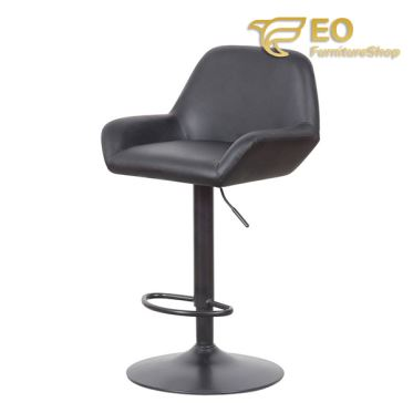 Black PU Bar Chair
