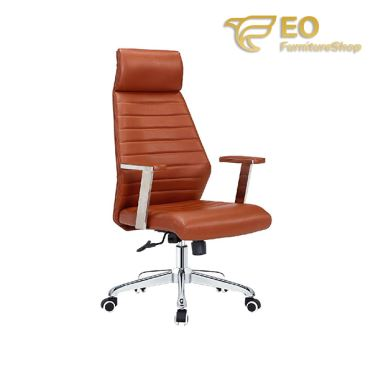 Brown High Back Executive Chair