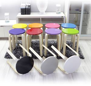 Colored Round Stools