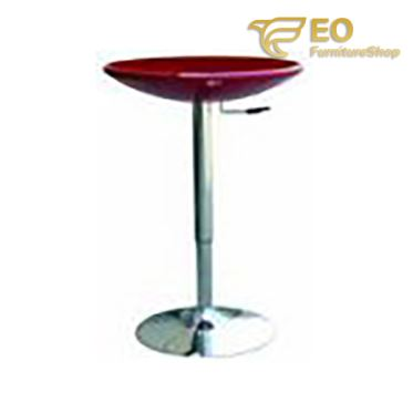 Colorful Chrome Bar Table
