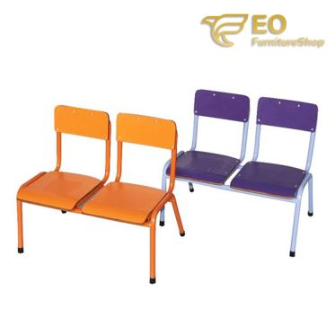 Double Seats School Chair