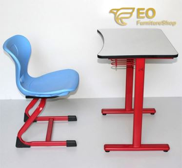 Ergonomic School Desk And Chair