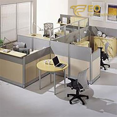 Four Seater Staff Office Table