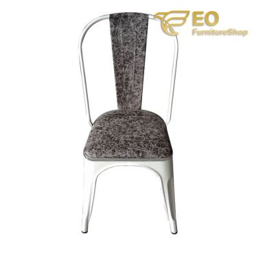 Highback Metal Dining Chair