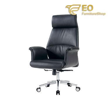 Leather Armrest Executive Chair