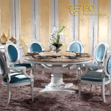 Marble Revolveing Dining Table