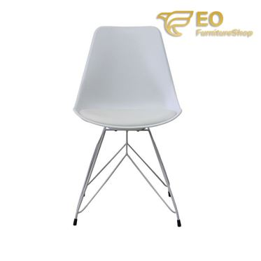 PP Steel Dining Chair