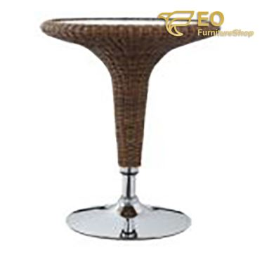 Rattan Adjustable Bar Table
