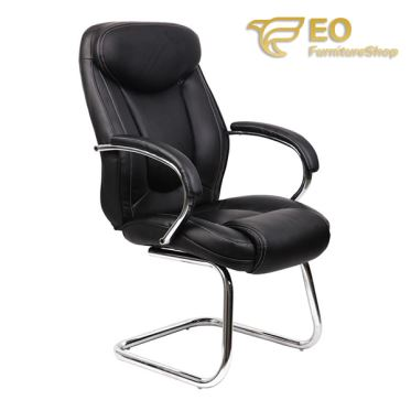 Stackable PU Leather Chair