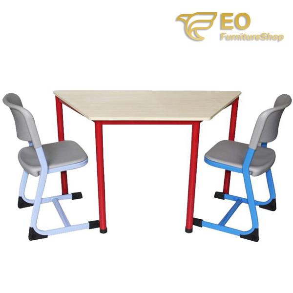 Trapezoid School Desk