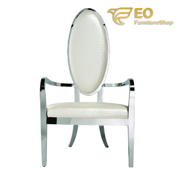 White Luxury Lounge Chair